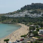 Lindos Beach, Rhodes, Greece Beaches