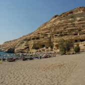Matala Beach, Crete, Greece Beaches