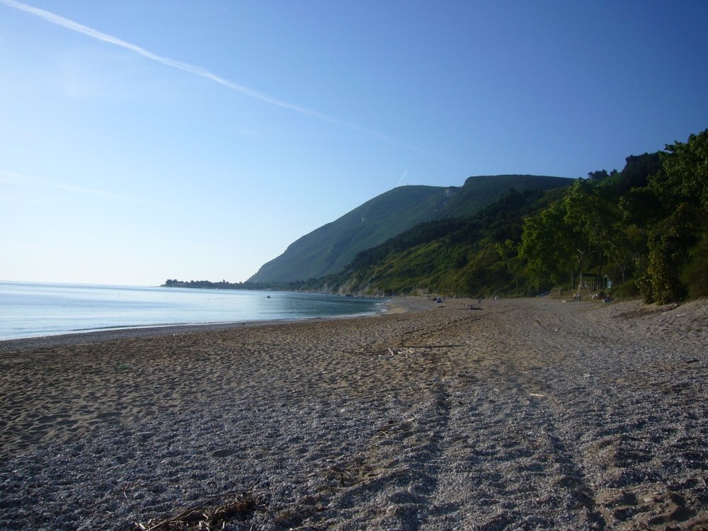 Mezzavalle Beach, Marche, Best Italy Beaches