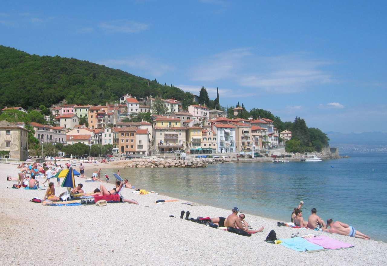 Moscenicka Draga, Best Beaches in Croatia