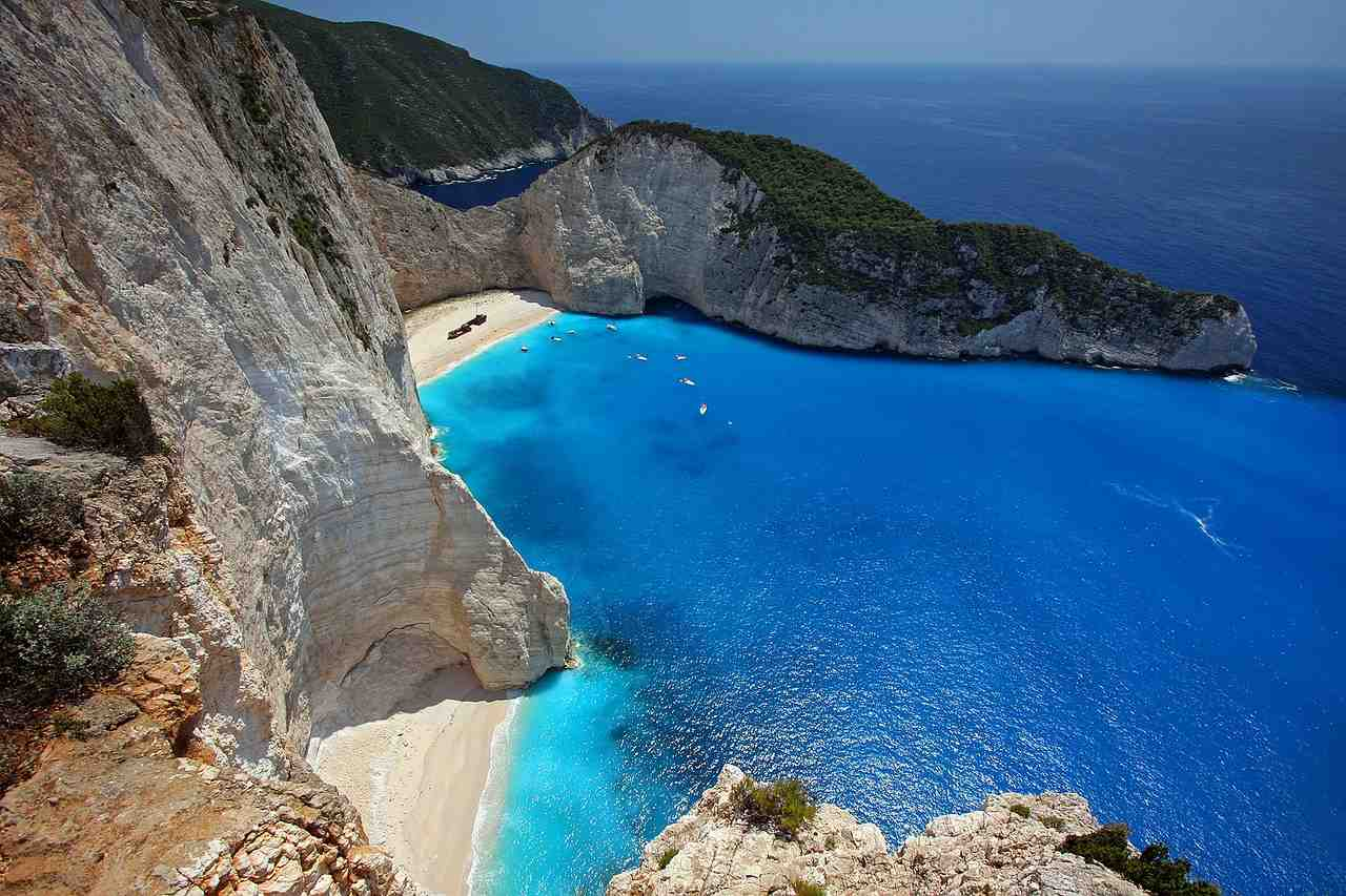 Navagio Beach, Zakynthos, Greece Beaches