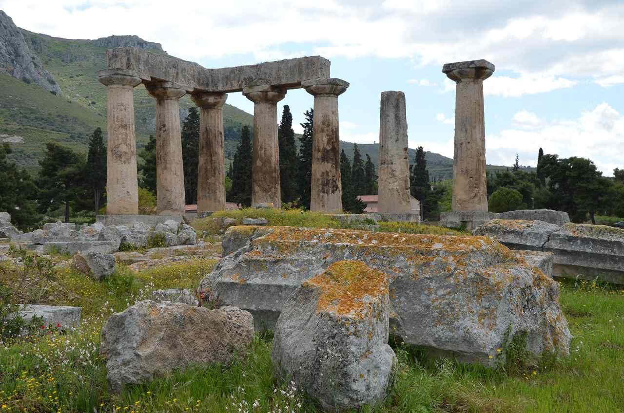Temple of Apollo Ruins, Porto Katsiki, Greece Beaches