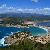 Voidokilia Beach, Messinia, Greece Beaches