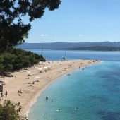 Zlatni Rat Beach, Bol, Best Beaches in Croatia