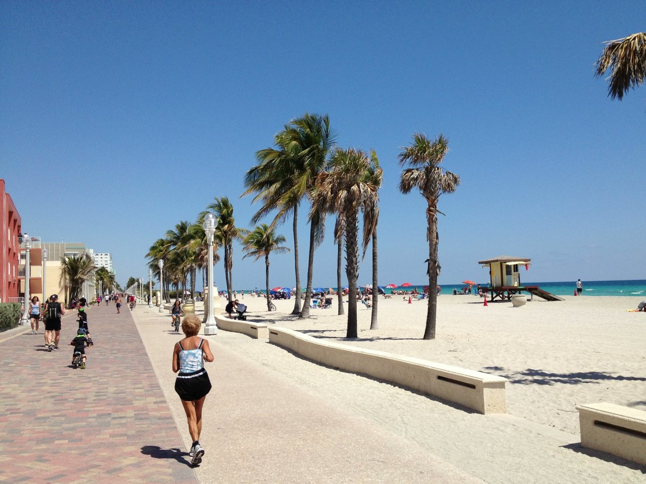 Hollywood Beach, Florida, Best Beaches in the USA