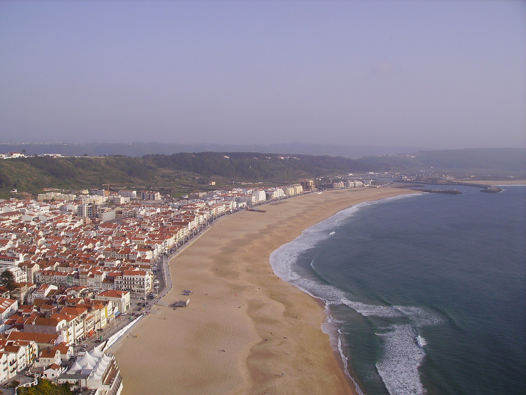 Nazare, Best Beaches in Portugal