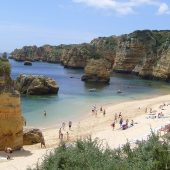 Praia Dona Ana, Best Beaches in Portugal