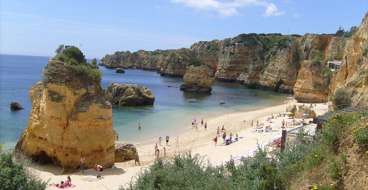 Praia Dona Ana, Best Beaches in Portugal