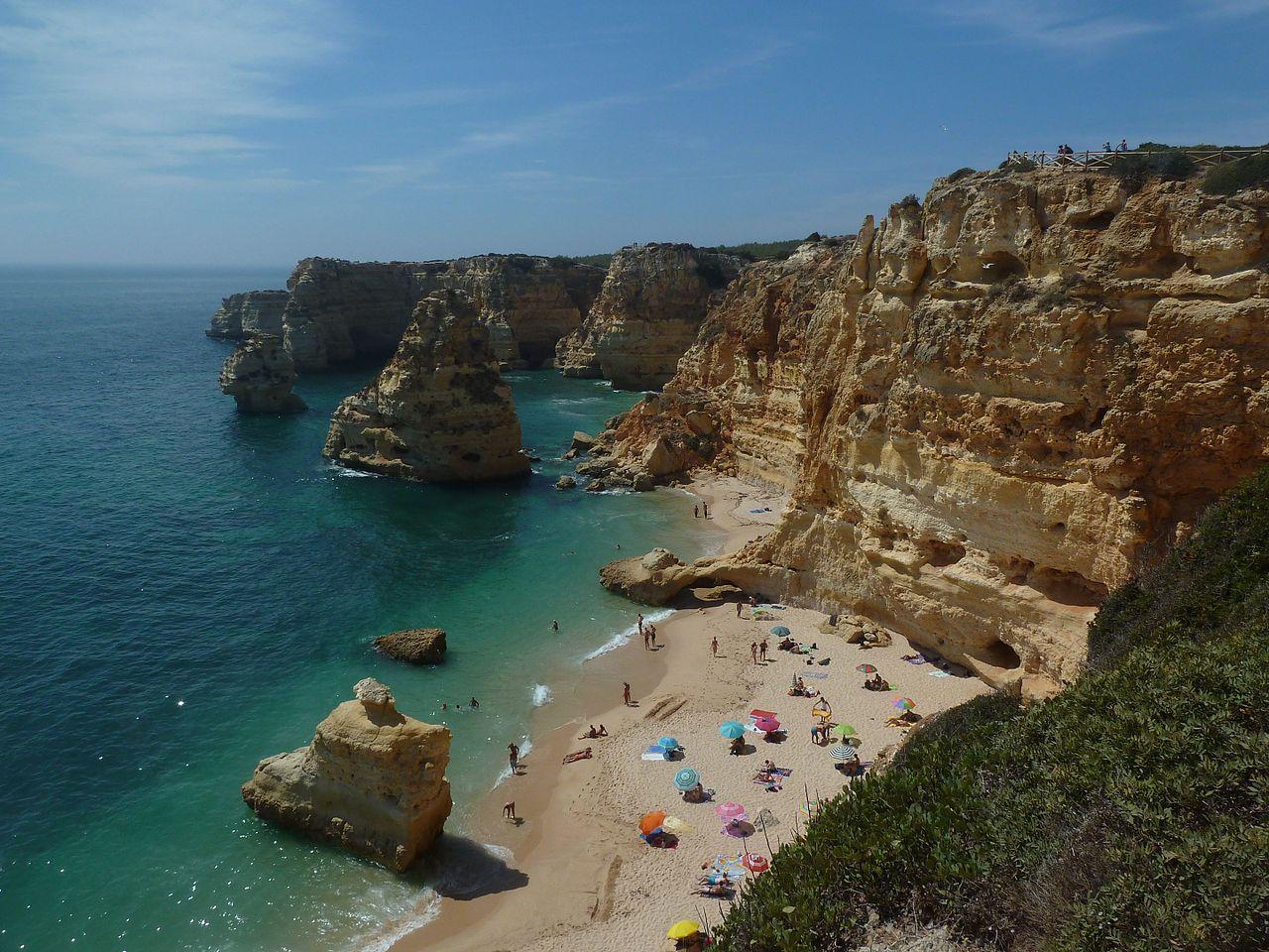 Praia da Marinha, Best Beaches in Portugal