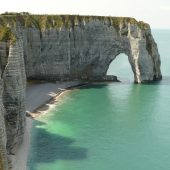 Etretat Cliffs And Beach, Best Beaches in France