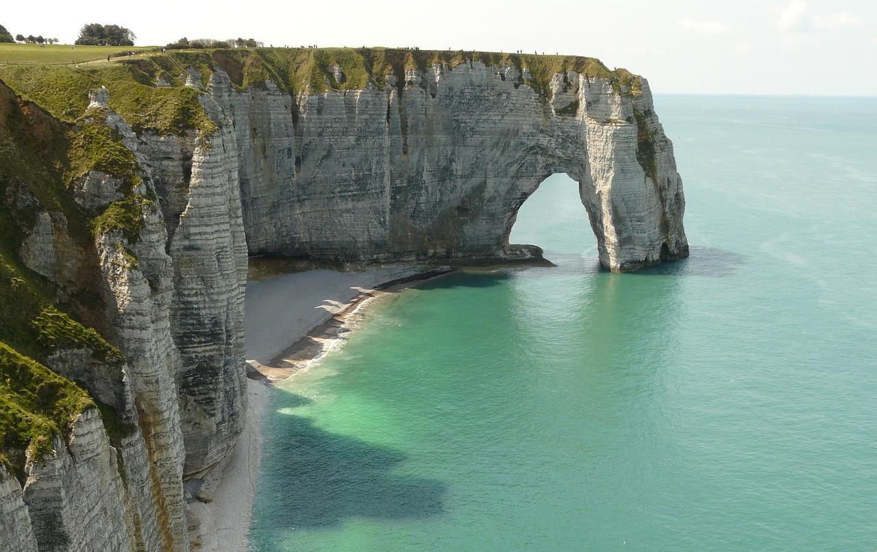 Etretat Cliffs And Beach, Best Beaches in France
