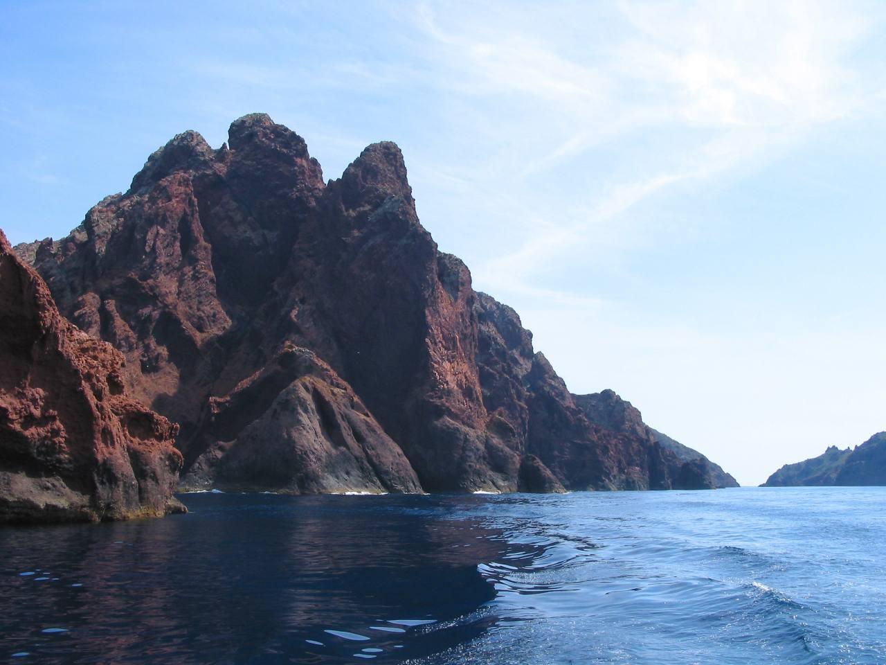 Cape Girolata, Cape Porto, Scandola Nature Reserve and the Piana Calanches in Corsica, Unesco France