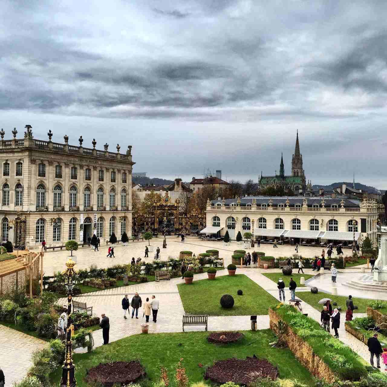 Place Stanislas, Place de la Carrière and Place d'Alliance in Nancy, Unesco France