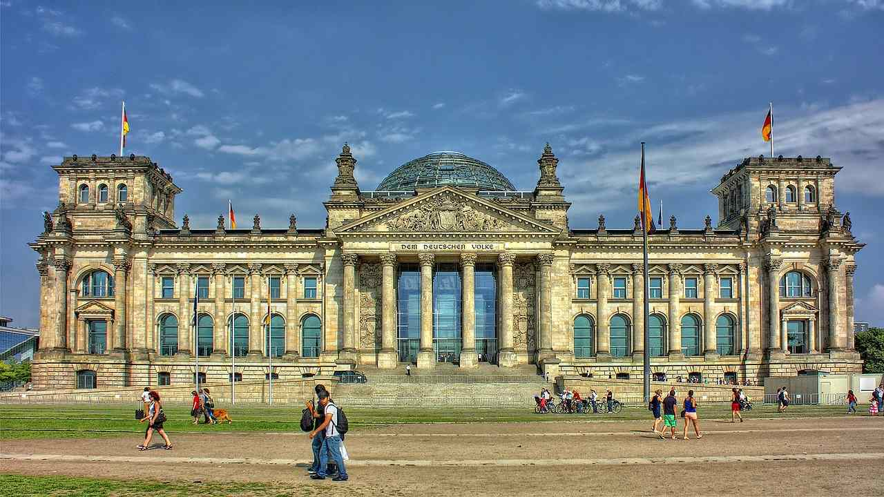 Reichstag, Berlin Attractions, Germany