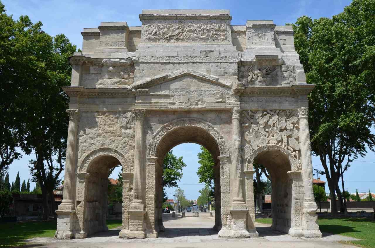 Triumphal Arch of Orange, Unesco France