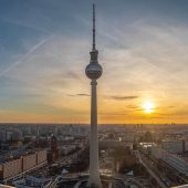 Berlin TV Tower, Berlin Attractions, Germany