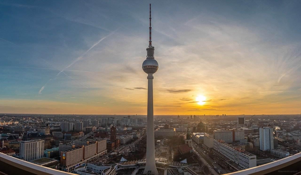 Berlin TV Tower, Berlin Attractions, Germany
