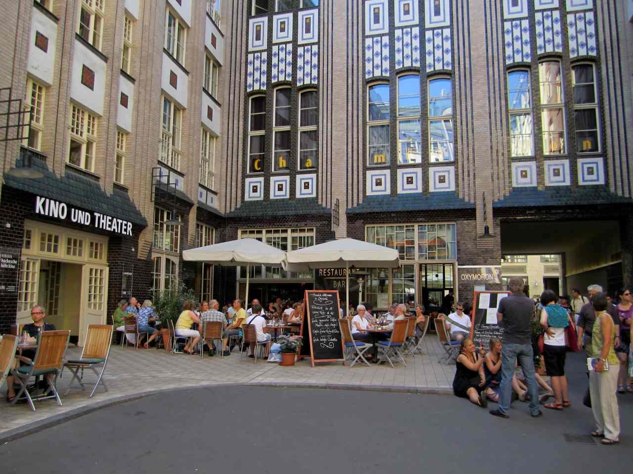 Hackesche Hoefe, Berlin Attractions, Germany