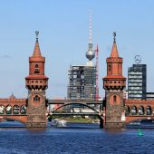 Oberbaum Bridge, Berlin Attractions, Germany