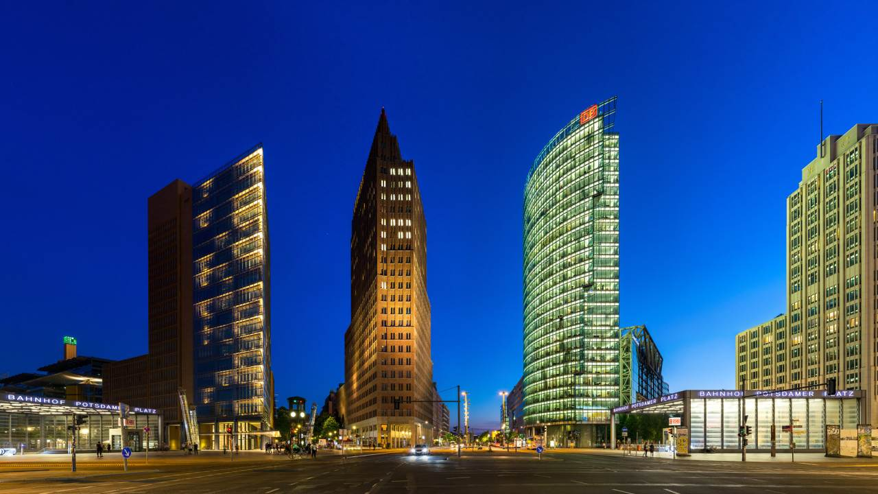 Potsdamer Platz, Berlin Attractions, Germany