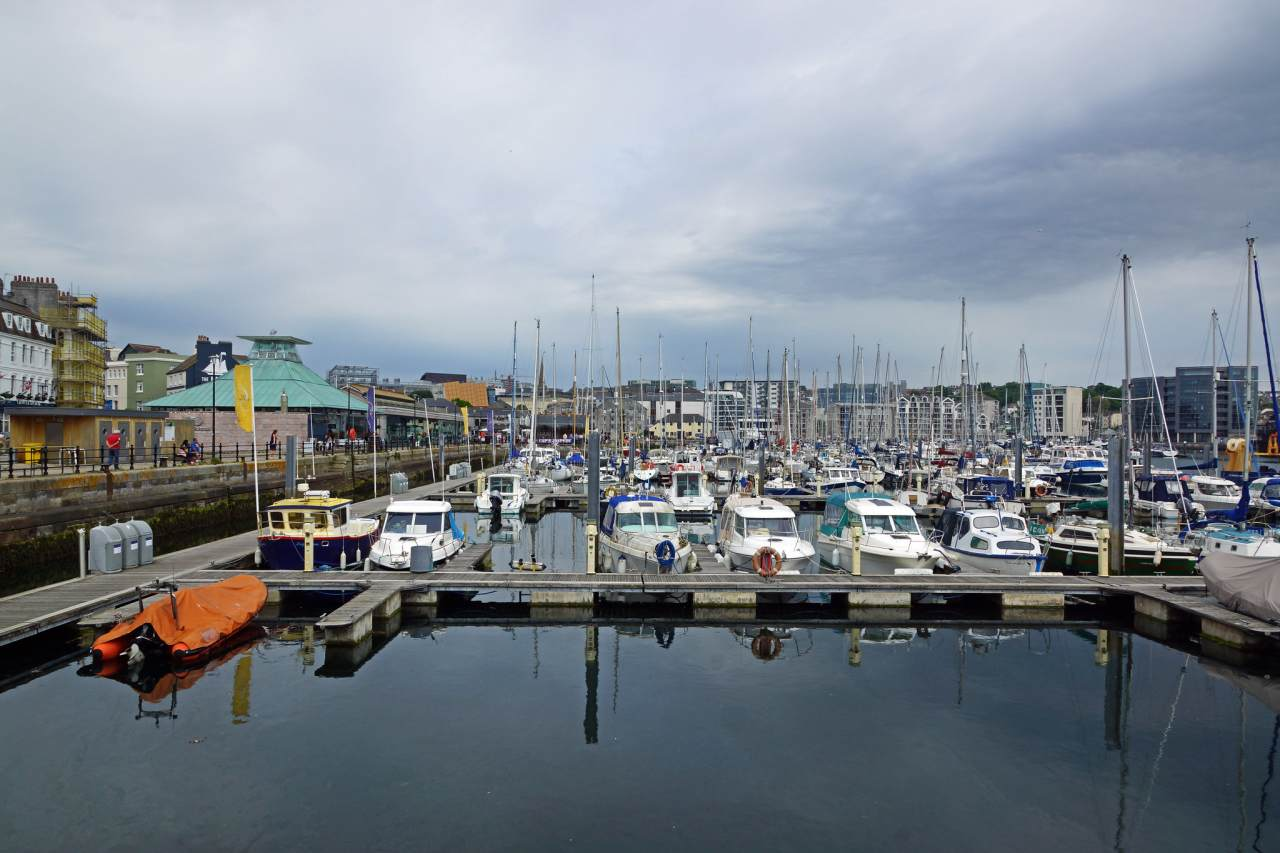 Harbor Plymouth, Cities in England