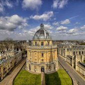 Oxford Radclife library, Cities in England