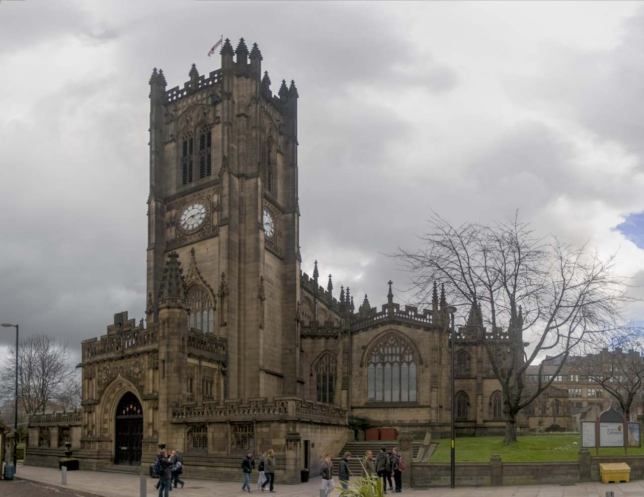 Manchester Cathedral, Manchester, England