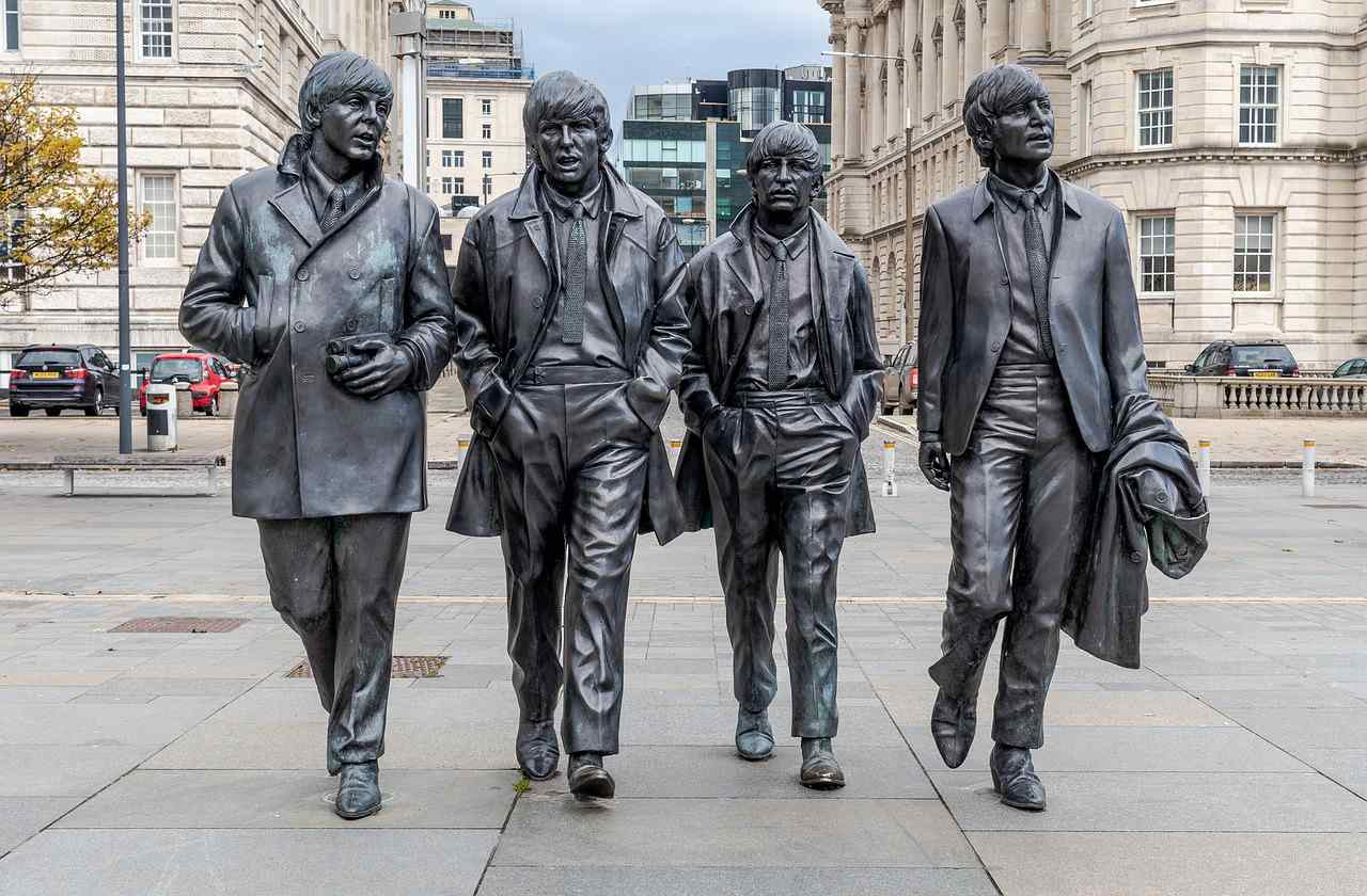 The Beatles, Liverpool, England